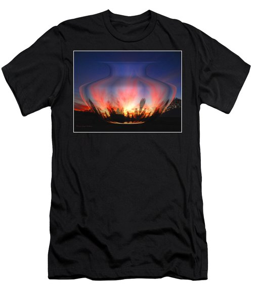 Men's T-Shirt (Slim Fit) featuring the photograph Capricorn Morning by Joyce Dickens