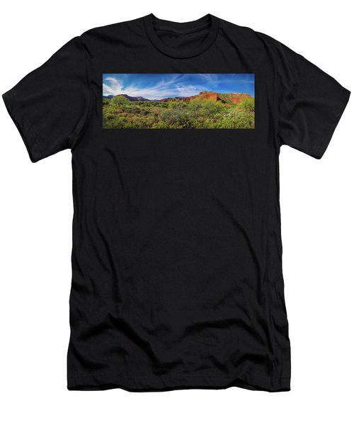 Caprock Canyon Panorama 2 Men's T-Shirt (Athletic Fit)