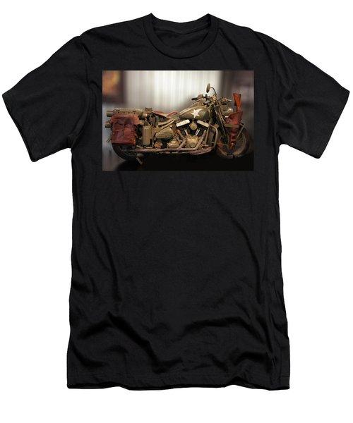 Captain America Wla Ohv V-twin Men's T-Shirt (Athletic Fit)