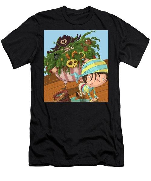Captain Beard Men's T-Shirt (Athletic Fit)