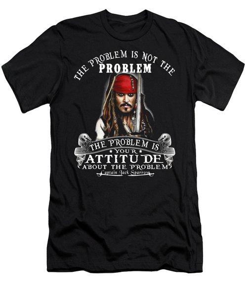 Captain Jack Sparrow Men's T-Shirt (Athletic Fit)