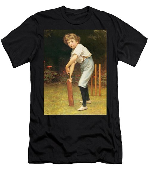 Captain Of The Eleven Men's T-Shirt (Slim Fit) by Philip Hermogenes Calderon