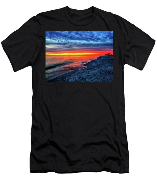 Captiva Island Sunset Men's T-Shirt (Athletic Fit)