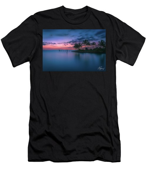 Men's T-Shirt (Athletic Fit) featuring the photograph Captiva Sunset by Francisco Gomez