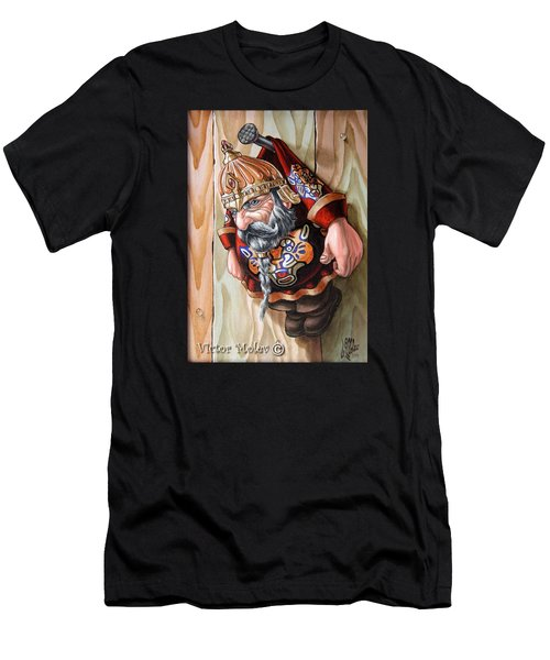 Captive Dwarf In Tiger Suit Men's T-Shirt (Athletic Fit)