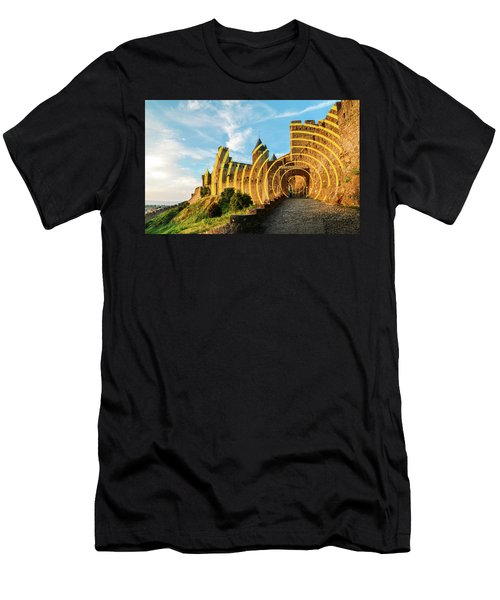 Carcassonne's Citadel, France Men's T-Shirt (Athletic Fit)