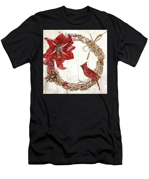 Cardinal Holiday II Men's T-Shirt (Athletic Fit)