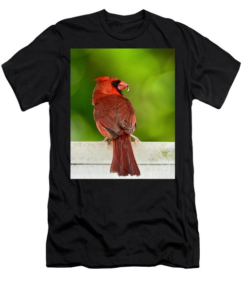 Cardinal Red Men's T-Shirt (Athletic Fit)