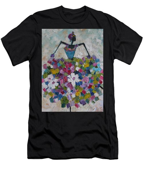 Caribbean Dancer Men's T-Shirt (Athletic Fit)