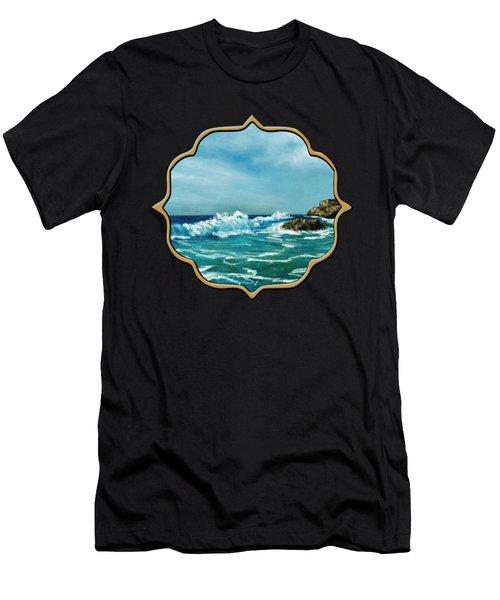 Caribbean Sea Men's T-Shirt (Athletic Fit)