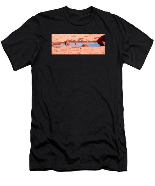 Caribbean Puddle Men's T-Shirt (Athletic Fit)
