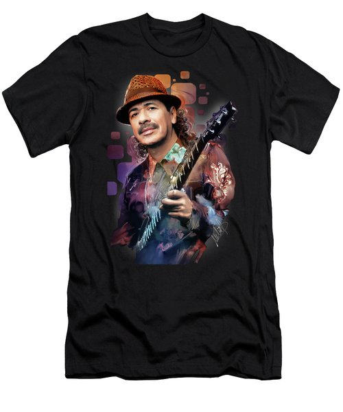 Carlos Santana Men's T-Shirt (Athletic Fit)