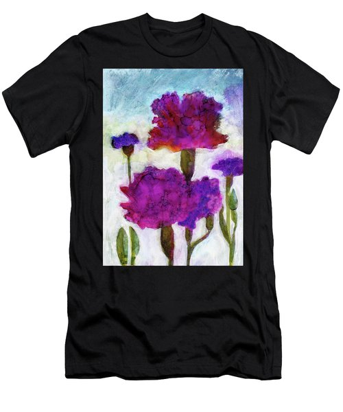 Carnations Men's T-Shirt (Athletic Fit)