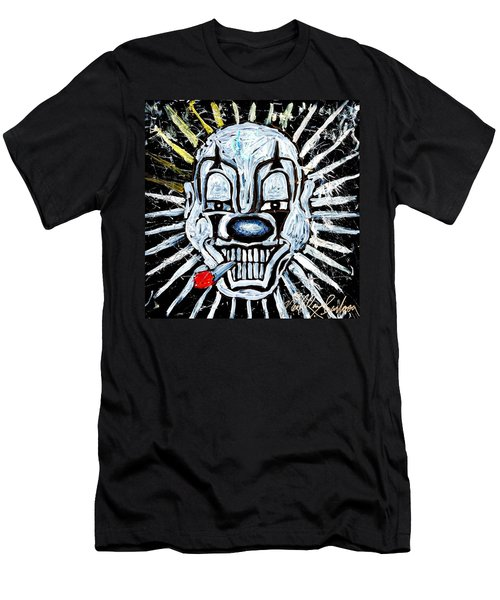 Carnival Clown Men's T-Shirt (Athletic Fit)