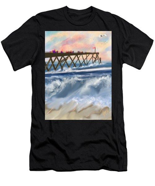 Carolina Beach Men's T-Shirt (Athletic Fit)