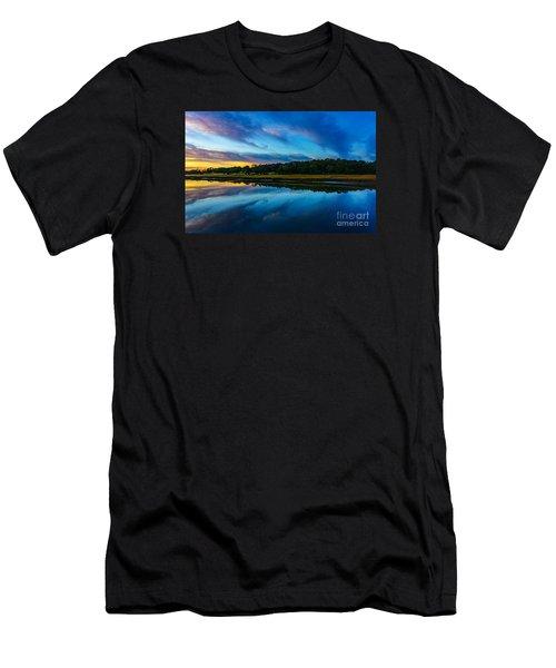Carolina Men's T-Shirt (Slim Fit) by David Smith