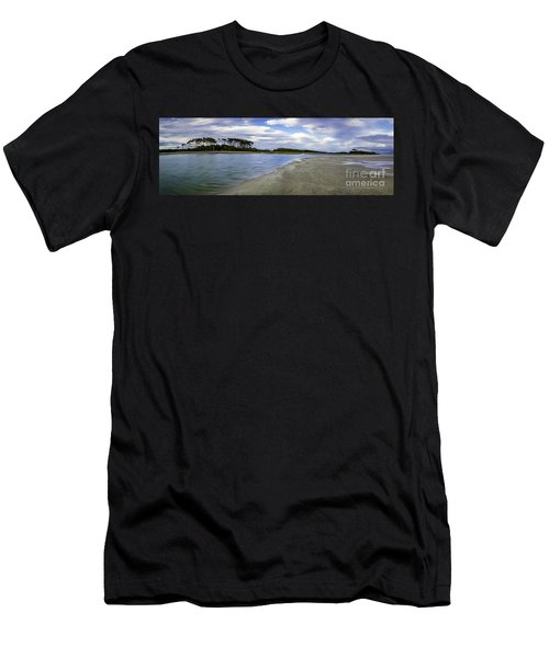Carolina Inlet At Low Tide Men's T-Shirt (Athletic Fit)