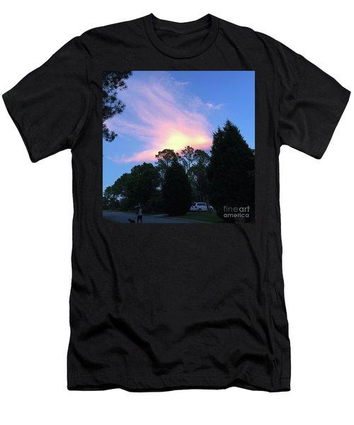 Carolina Summer Sky Men's T-Shirt (Athletic Fit)