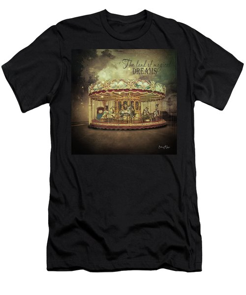 Carousel Dreams Men's T-Shirt (Athletic Fit)