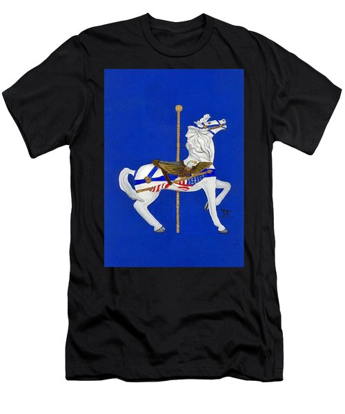 Carousel Horse #1 Men's T-Shirt (Athletic Fit)