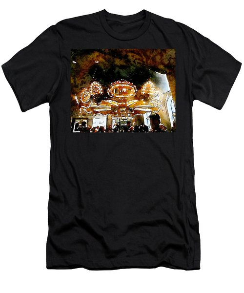 Carousle Bar At The Hoel Monteleone Men's T-Shirt (Athletic Fit)