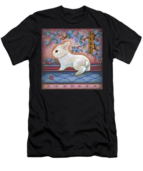 Carpe Diem Rabbit Men's T-Shirt (Athletic Fit)