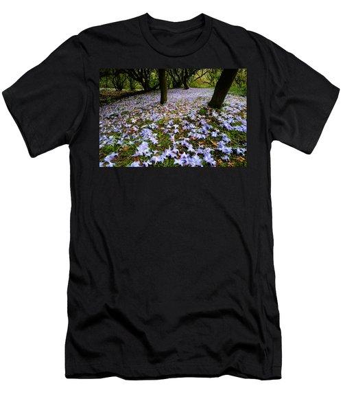 Carpet Of Petals Men's T-Shirt (Athletic Fit)