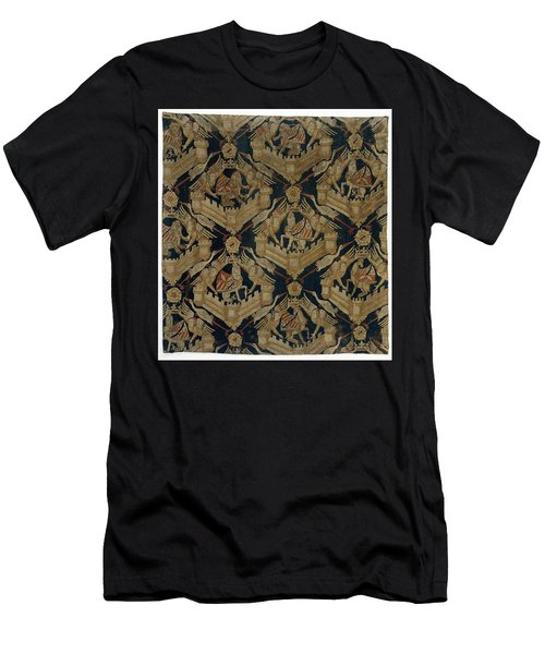 Textile Tapestry Carpet With The Arms Of Rogier De Beaufort Men's T-Shirt (Slim Fit) by R Muirhead Art
