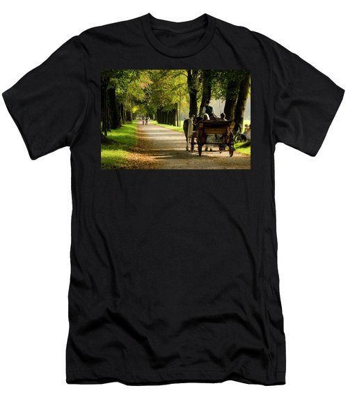 Carriage Ride In Hellbrunn Men's T-Shirt (Athletic Fit)