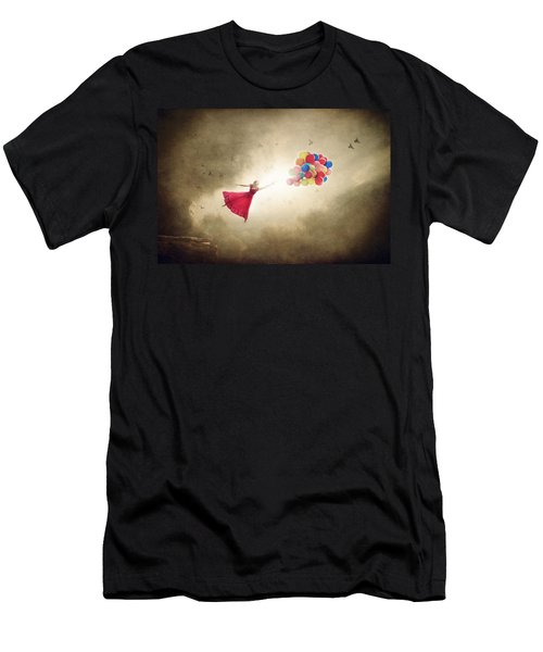 Carried Away Men's T-Shirt (Slim Fit) by Greg Collins