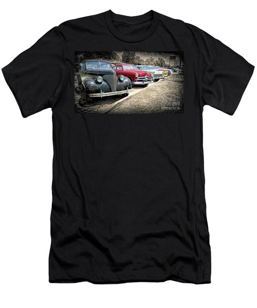Cars For Sale Men's T-Shirt (Slim Fit) by Marion Johnson