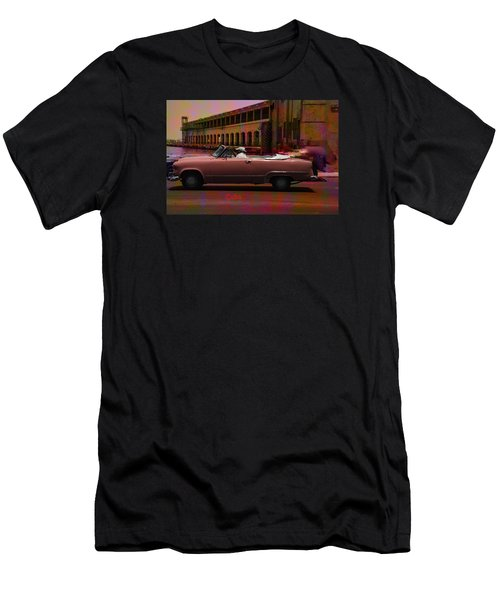 Cars Of Cuba Men's T-Shirt (Slim Fit) by Will Burlingham