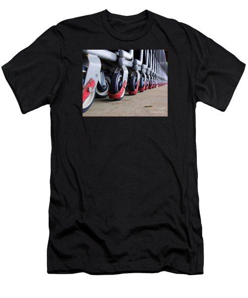 Cart Wheels Men's T-Shirt (Slim Fit) by John S