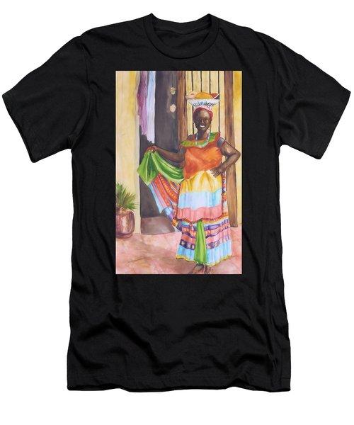 Cartegena Woman Men's T-Shirt (Athletic Fit)