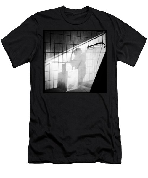 Carwash Shadow And Light Men's T-Shirt (Slim Fit)