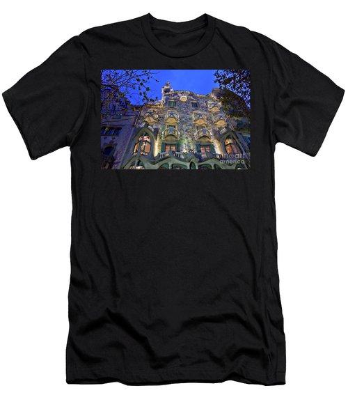 Casa Batllo In Barcelona Men's T-Shirt (Athletic Fit)