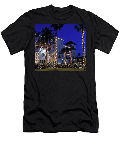 Casa Monica Inn Night Of Lights Men's T-Shirt (Athletic Fit)