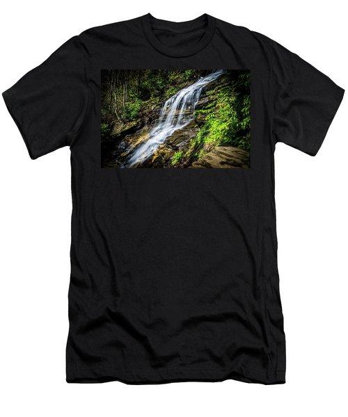 Cascade Falls Men's T-Shirt (Athletic Fit)
