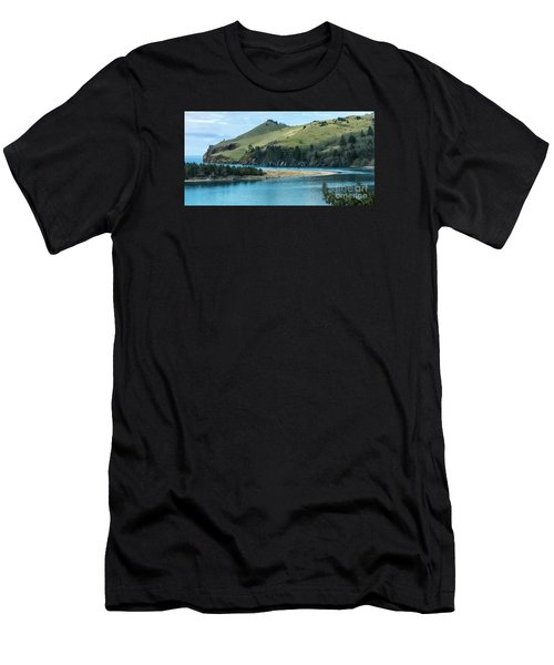 Cascade Head Panorama Men's T-Shirt (Athletic Fit)