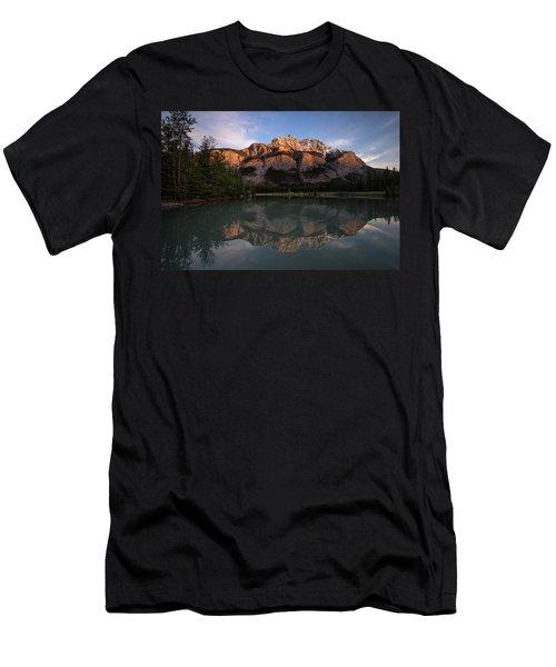Cascade Ponds Reflections Men's T-Shirt (Athletic Fit)