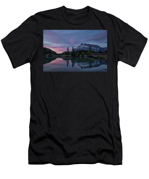 Cascade Ponds Sunrise Men's T-Shirt (Athletic Fit)