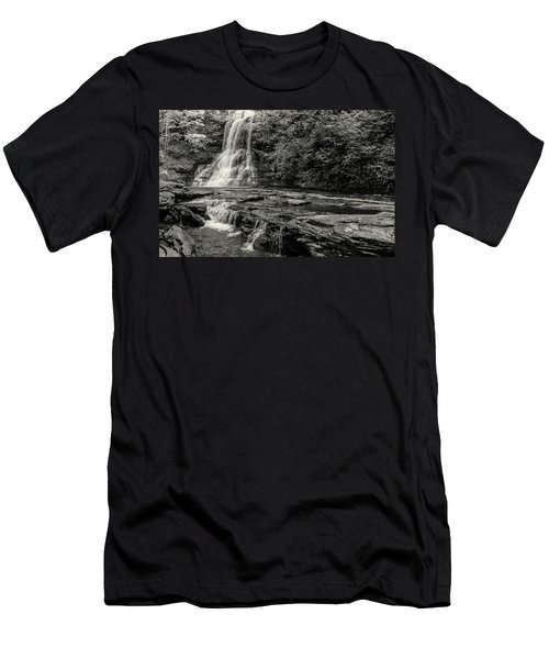 Cascades Waterfall Men's T-Shirt (Athletic Fit)