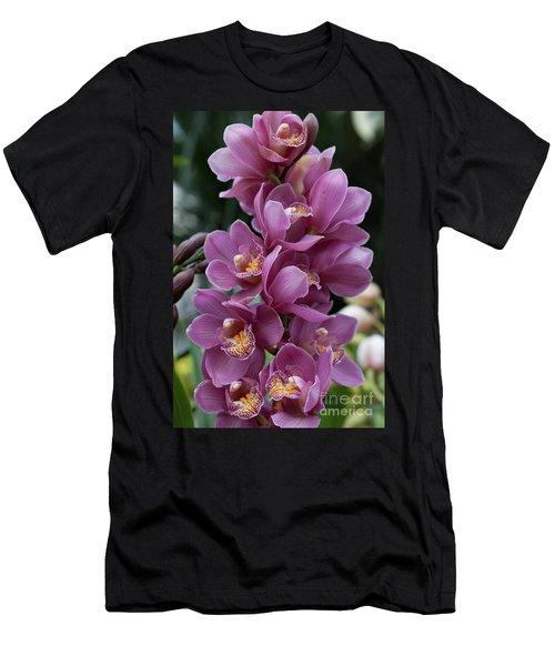 Cascading Orchids Men's T-Shirt (Athletic Fit)