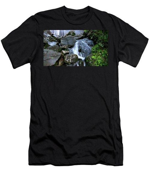 Cascadita De El Yunque Men's T-Shirt (Athletic Fit)