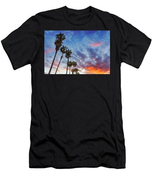 Casitas Palms Men's T-Shirt (Athletic Fit)
