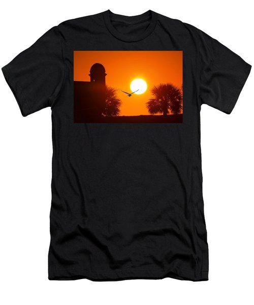 Castillio De San Marcos Men's T-Shirt (Athletic Fit)