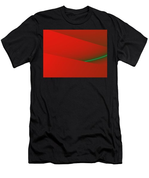 Casting My Shadow In The Road Men's T-Shirt (Athletic Fit)