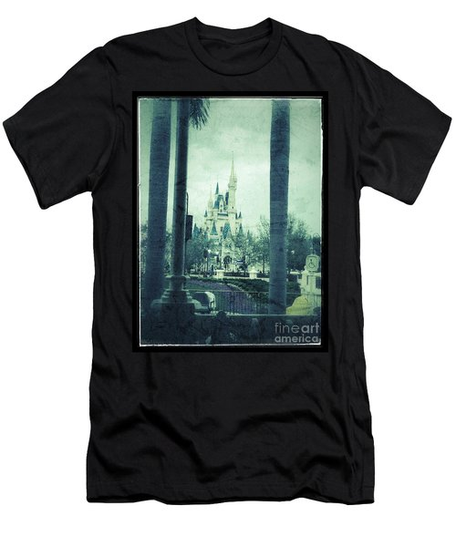 Castle Between The Palms Men's T-Shirt (Athletic Fit)