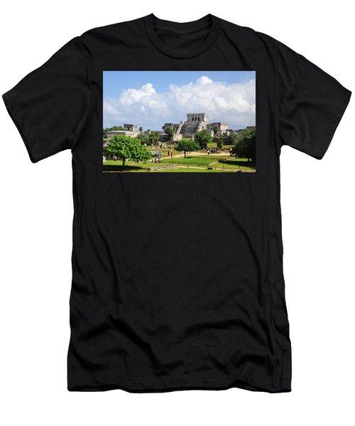 Castle In The Sky Men's T-Shirt (Athletic Fit)
