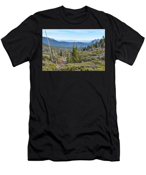 Castle Lake Trail Men's T-Shirt (Athletic Fit)